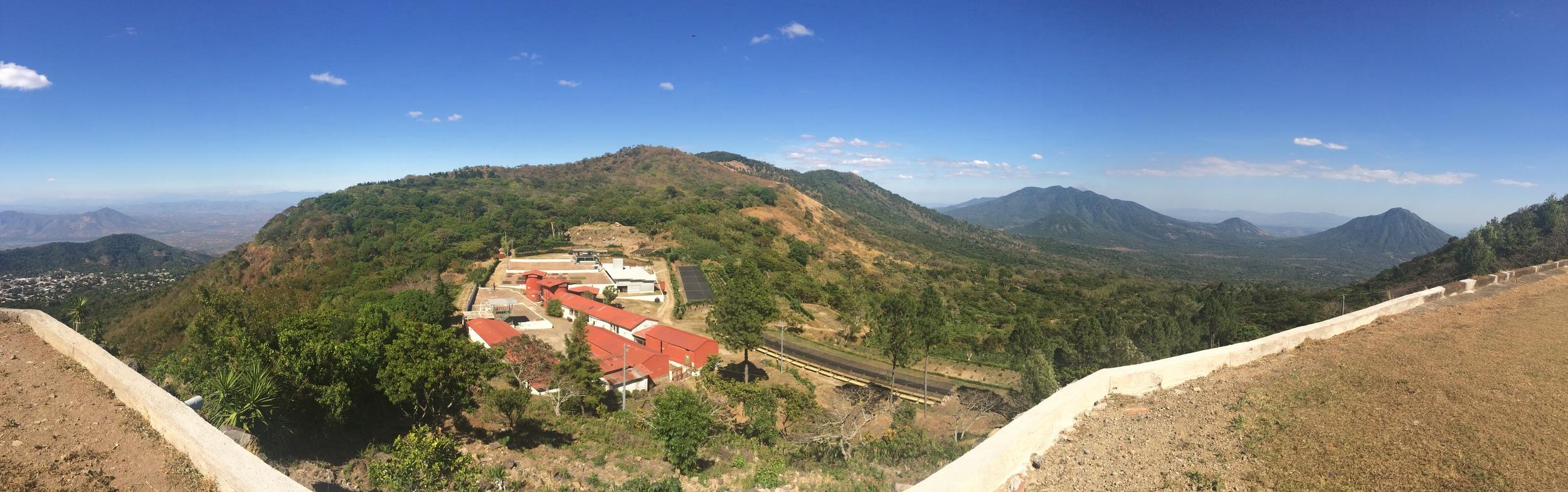 El Salvador coffee farm