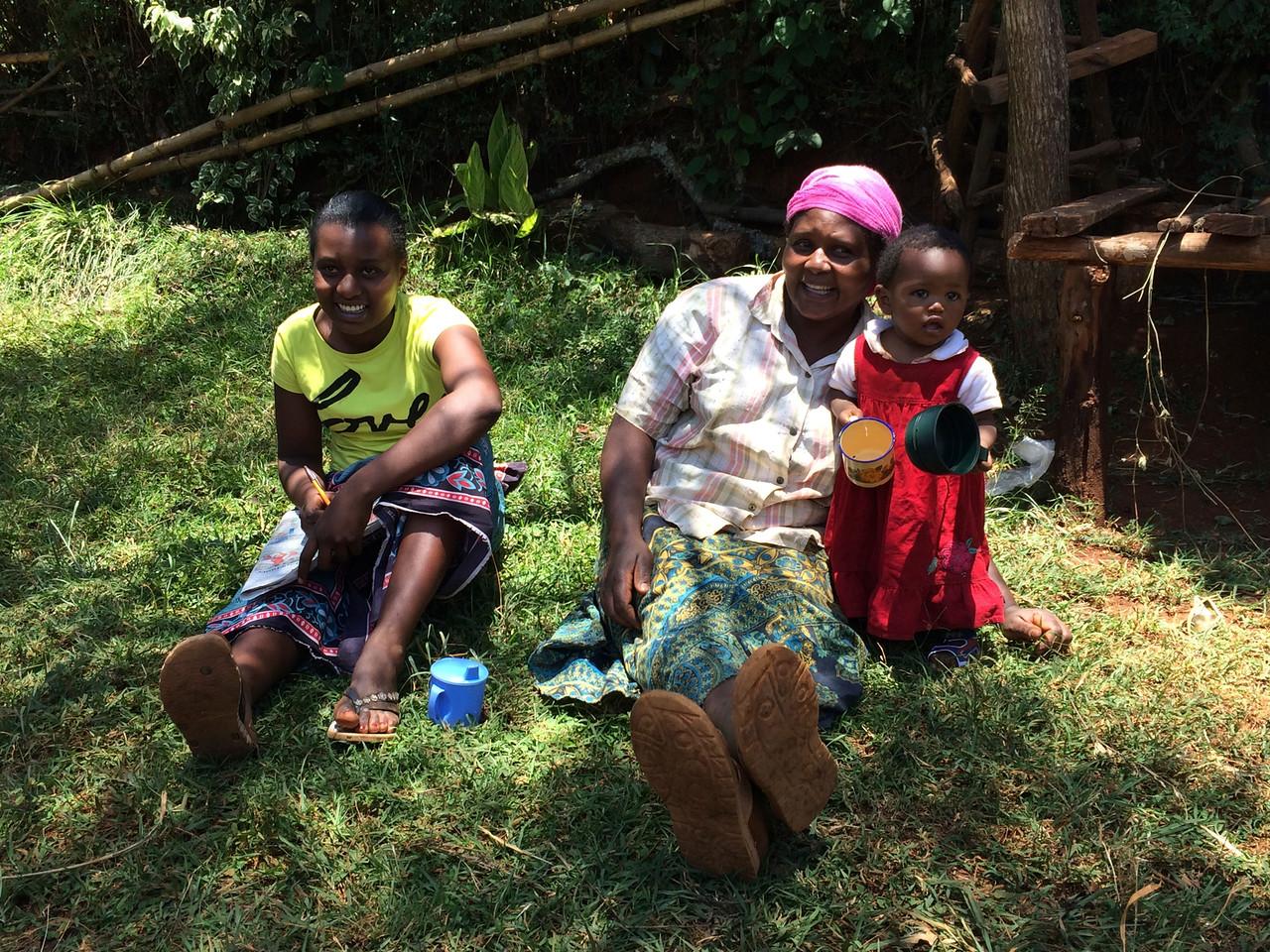Kenyan smallholder