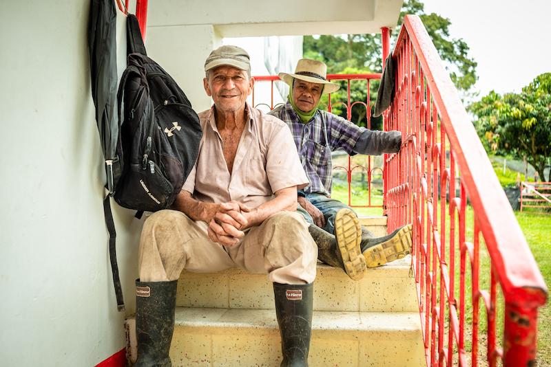 Farm Workers in Antioquia